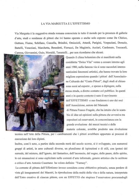 La via Margutta e l'Effettismo