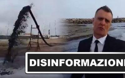 Le immagini scioccanti degli scarti di petrolio riversati in mare. Disastro ambientale a Marina di Grosseto o grossa bufala?