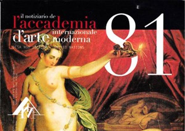 Il Notiziario de l'Accademia d'Arte Moderna n. 81 – l'Osservatore e l'Arte Contemponea di Francesca Romana Fragale