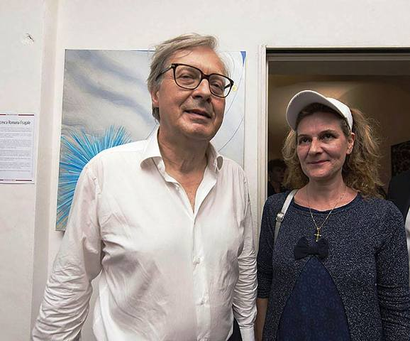 Il nostro Presidente Francesca Romana Fragale alla Mostra Spoleto Arte a cura di Vittorio Sgarbi