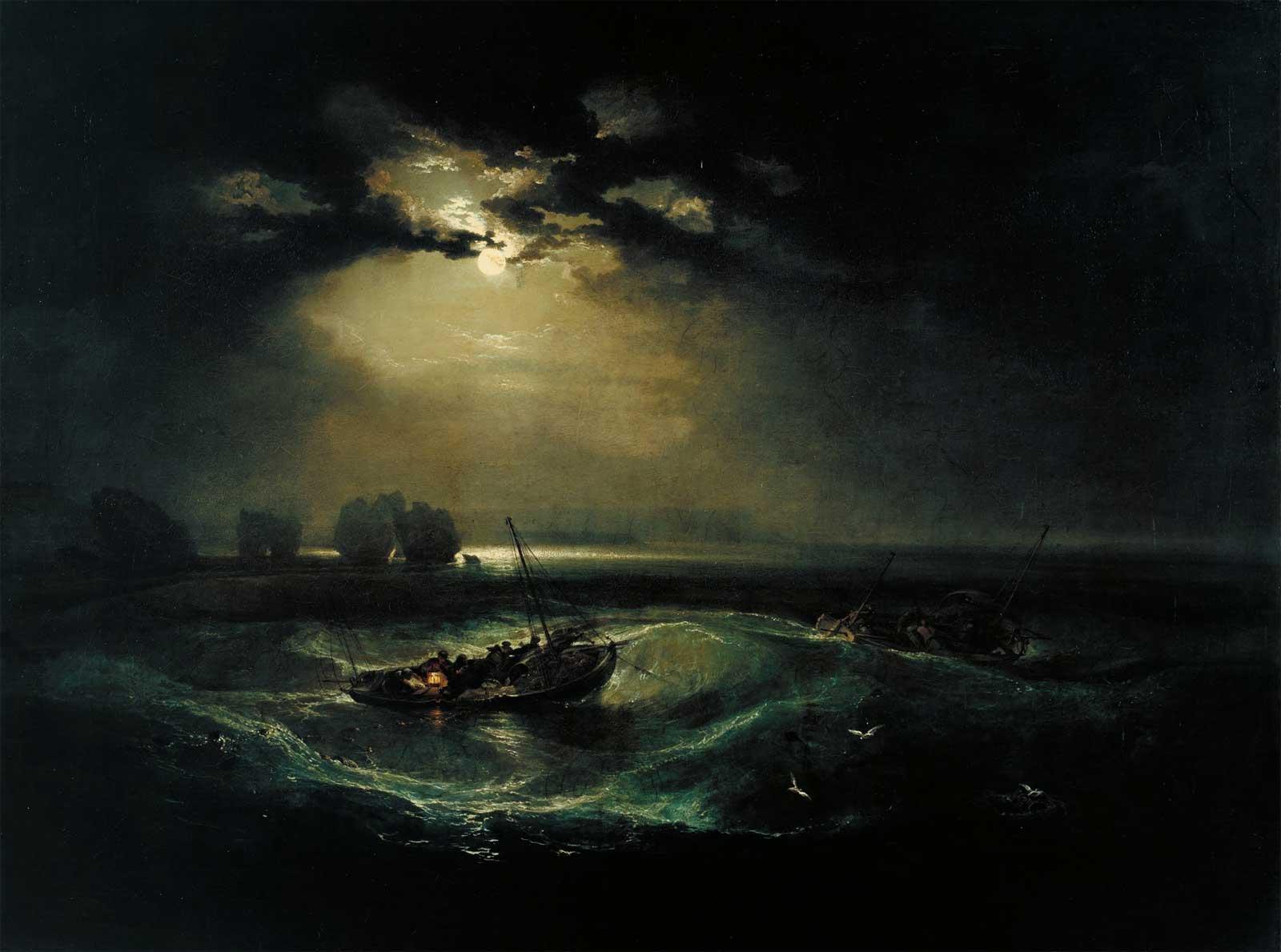 William Turner - Pescatori in mare