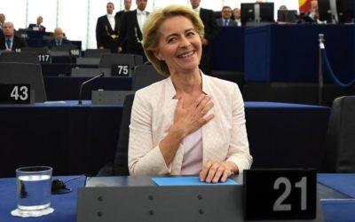 M5S hanno determinato la vittoria della tedesca alla presidenza della Commissione europea