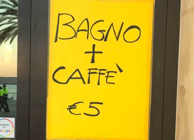 Una tassa sulla pipì, la Regione Lazio approva. Si pagherà in bar e ristoranti
