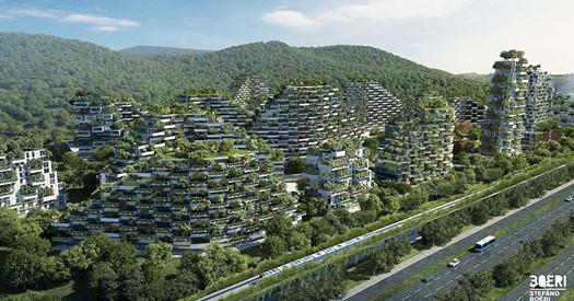 In Cina nasce una città foresta (fatta da italiani)