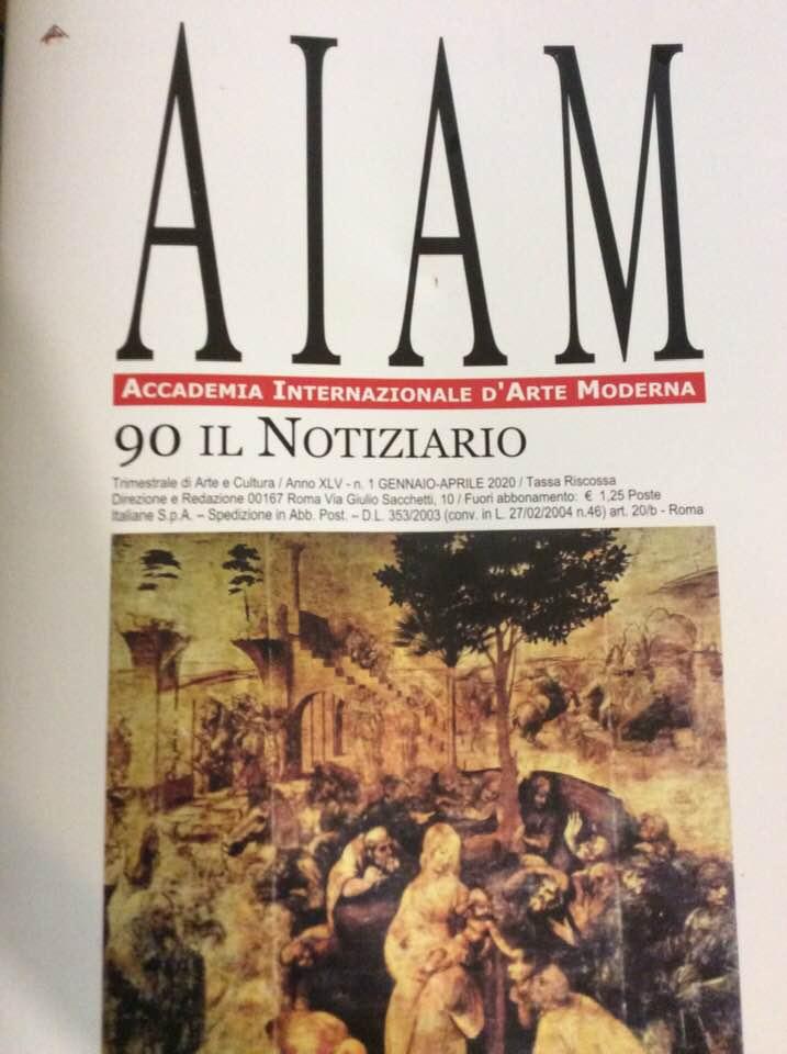 È uscito il nuovo numero del Notiziario dell'Accademia Internazionale d'Arte Moderna…