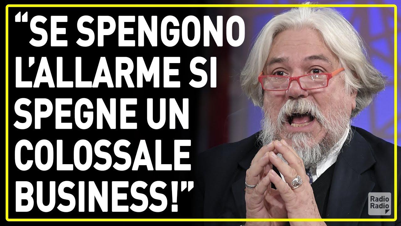 """""""VOGLIONO INFILARCI NELLE CHIAPPE GLI 800 MILIONI DI VACCINI GIÀ PREPARATI E PAGATI!"""" ► Meluzzi"""