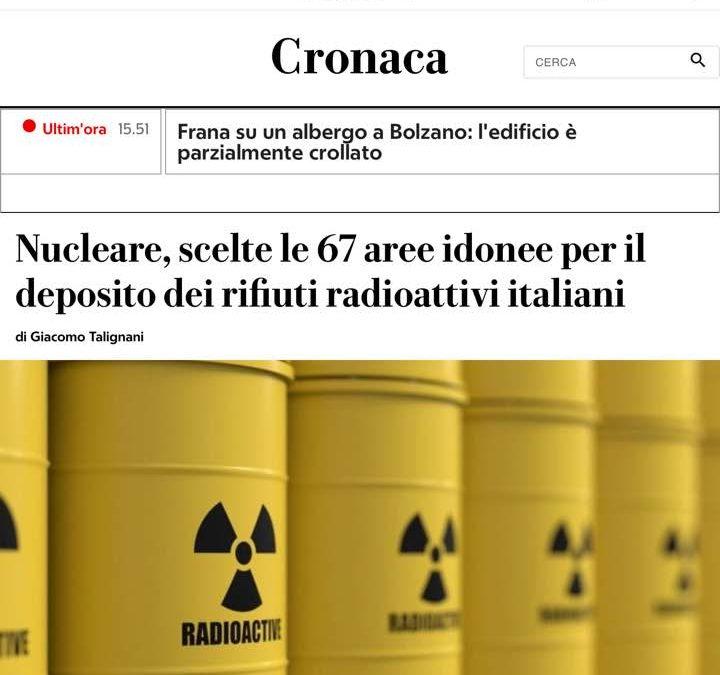 Aree IDONEE in ITALIA? NOOOOOOOOOOOOOOOOOOOO