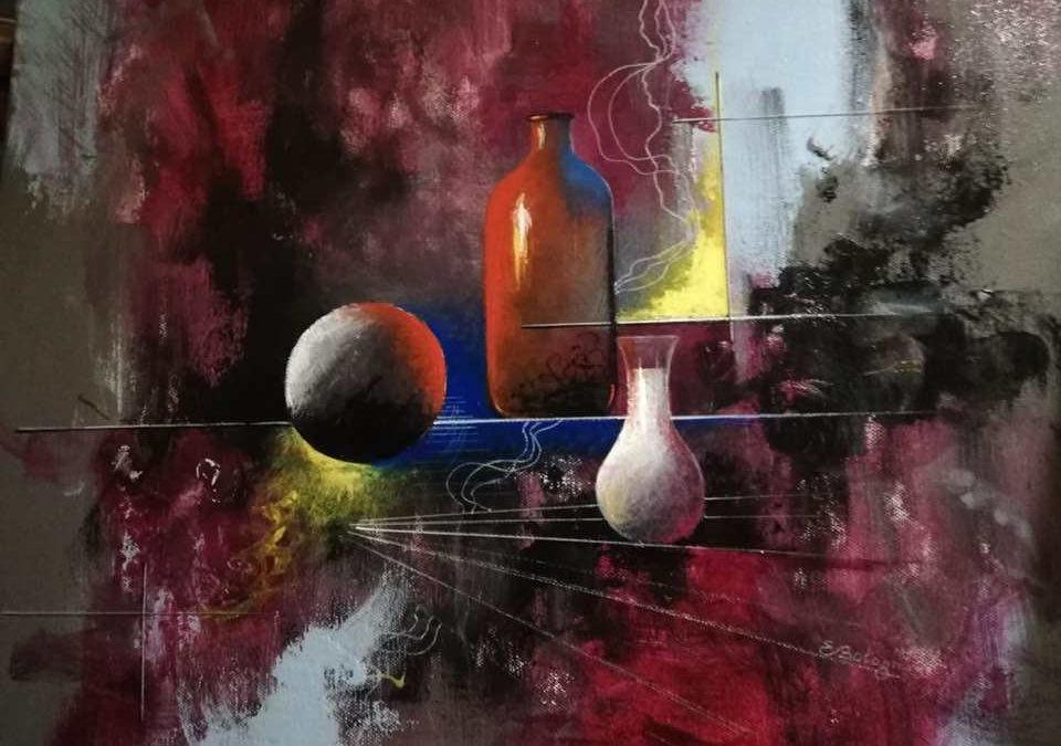 """""""Still live and vibration"""" di Ercole Bolognesi"""